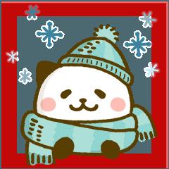 歲末年終溫暖你心貼圖❤熊貓貓
