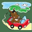 pinto horse Yura