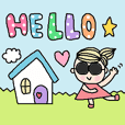 cute ordinary conversation sticker323