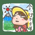 山ガール 富士山