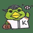 เคโระ-michi ไก่เบสบอลอาศรม ไก่เบสบอล