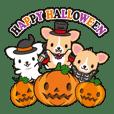 Corgi Halloween