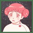 Hoshikawa Asako Sticker