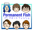 Permanent Fish original stamp