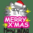 Meow X MiAO 聖誕貼圖