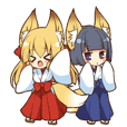 Miko sister of fox