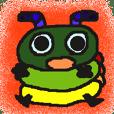 Rei of the green caterpillar