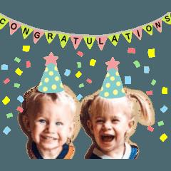 Twins greetings #2