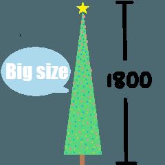 宇宙無敵超級長長長長長的聖誕樹