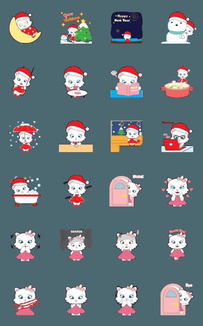 Pretty Kitty Christmas