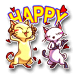 Happy Cats.