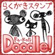 落描きスタンプ『Doodle!』