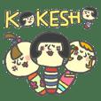 Japanese KOKESHI Doll's