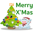 Mitu Sticker Christmas x Happy New Year