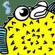 Paris-ikan Porcupine!