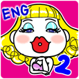 Hunny2~Happy stickers~English