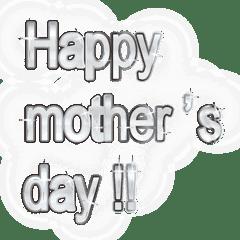 大体:銀005 母の日・父の日の言葉/EN