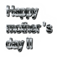 大体:黒005 母の日・父の日の言葉/EN