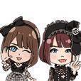 <Official>Mahokake Cast Sticker