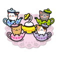 Teapot cat -BUCHI-