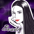 beautiful woman Sticker
