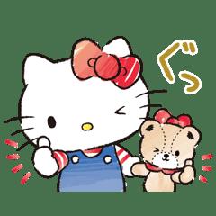 凱蒂貓與泰迪