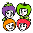 FAROX and friends : happy fruity kids.