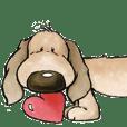 Cute Dog's Love