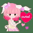 ピンク!桃少女のかわいい日々