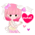 Pink!Peach girl