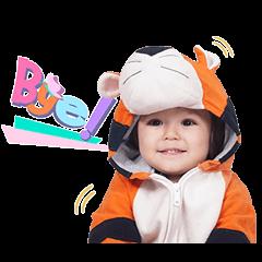 สติ๊กเกอร์ไลน์ El Barrack: The Cute Toddler