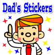 Dad's Stickers (English ver.)