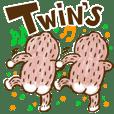 だらだらゴリラの双子