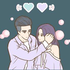 歐巴&小姐情侶日常4之粉紅泡泡篇