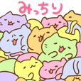 Mitchiri-Neko's Cats Galore Sticker