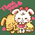 FUWA and MOCO of the rabbit (English)