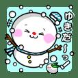 Snowman Kitty