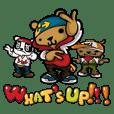 Hip Hop Bear : Benny, A.C., B-Real