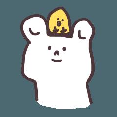 White bear's daily life