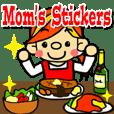 お母さんのスタンプ(日本語バージョン)