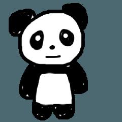 Panda talking Hakata dialect