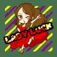 sticker of  Chiaki Takahashi