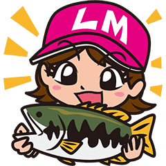 Bass Fishing Sticker from Lure Magazine
