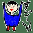 お絵描きキッズヨガ 第2弾