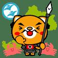 Samurai dog SHIBAKATSU