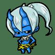 Japanese Blue Demon boy