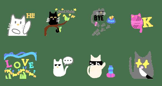 「catssssss 01」のLINEスタンプ一覧