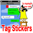 Tag Stickers (English Version)