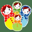 マトリョーシカ4姉妹