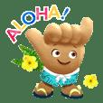 ハワイ州観光局のキャラクターShakaちゃん2
